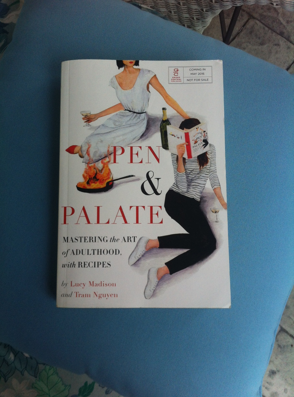 Book Review: Pen & Palate, Mastering the Art of Adulthood with Recipes