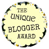 Unique Blogger Award!!!