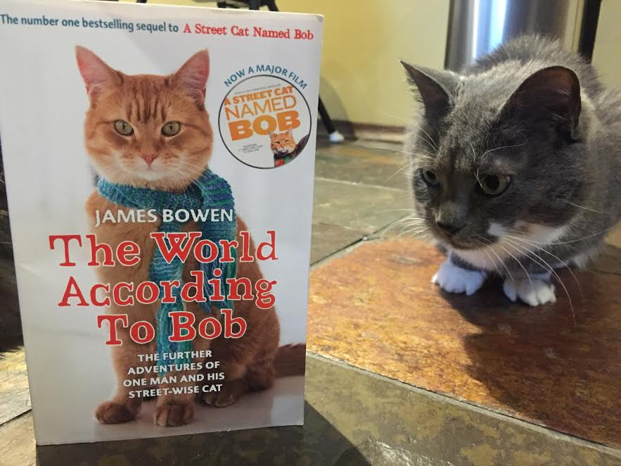 Book Review: The World According to Bob by James Bowen