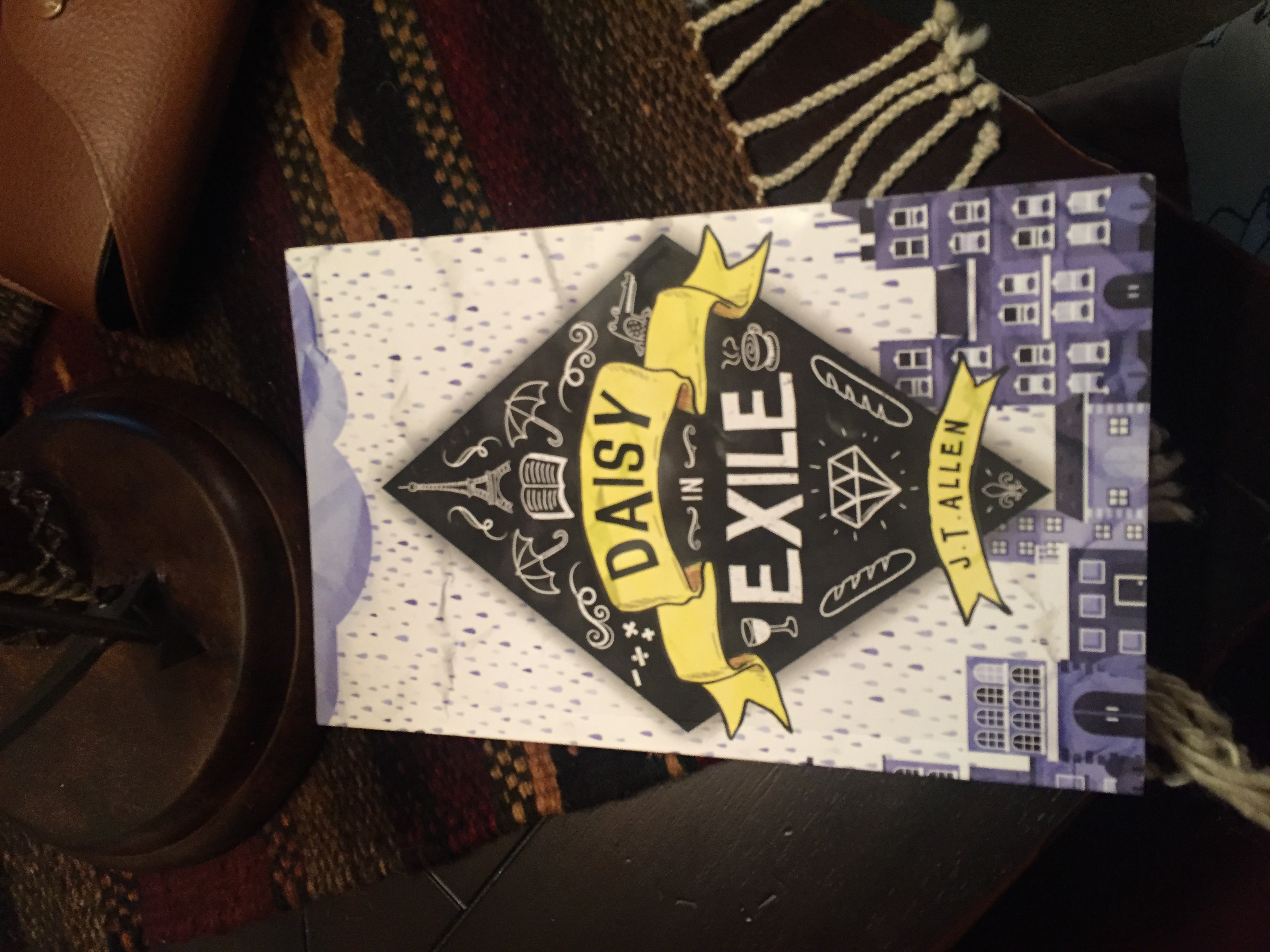 Book Review: Daisy in Exile by J.T. Allen