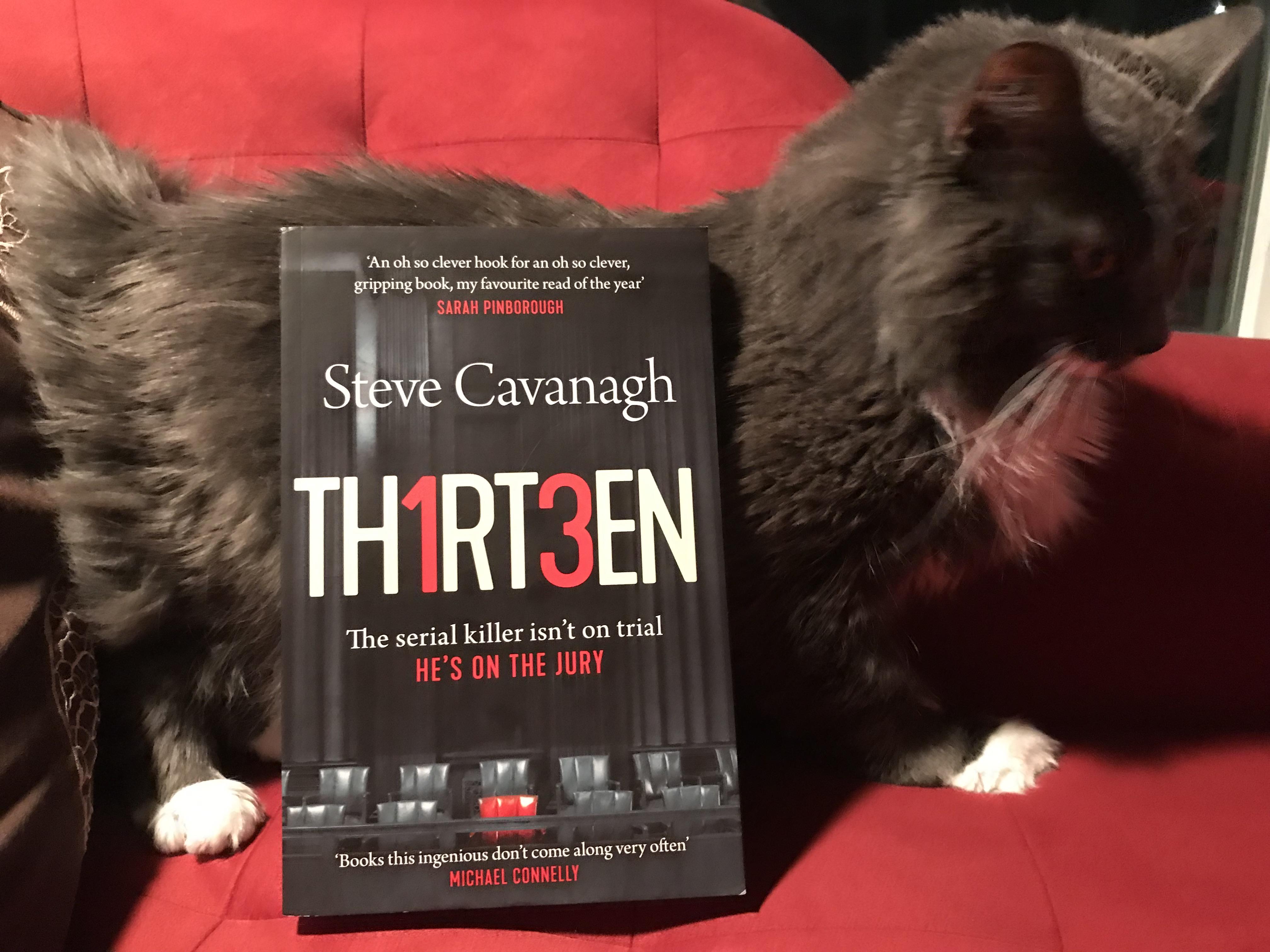 Book Review: Thirteen by Steve Cavanagh