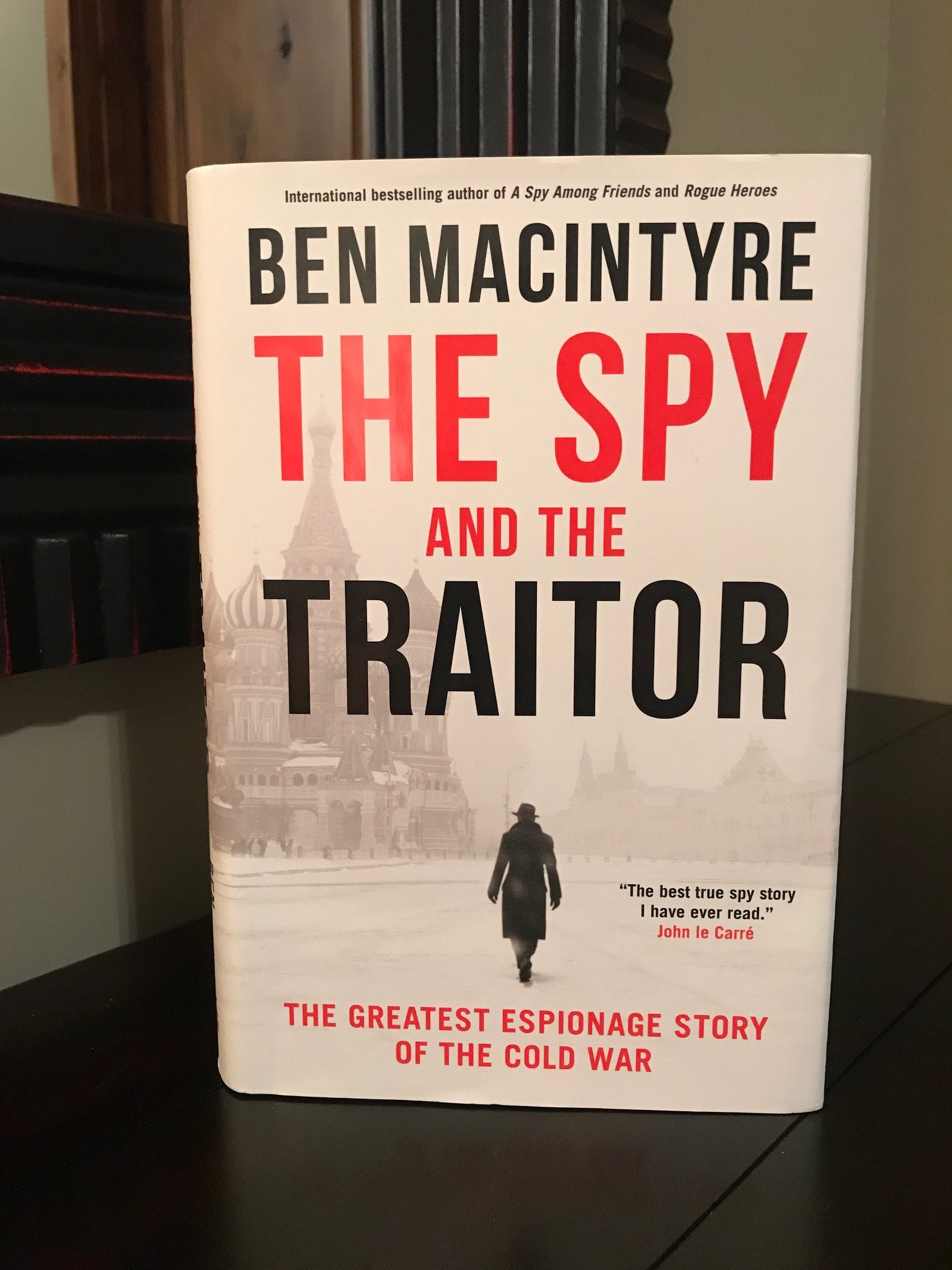 Book Review: The Spy and the Traitor by Ben MacIntyre