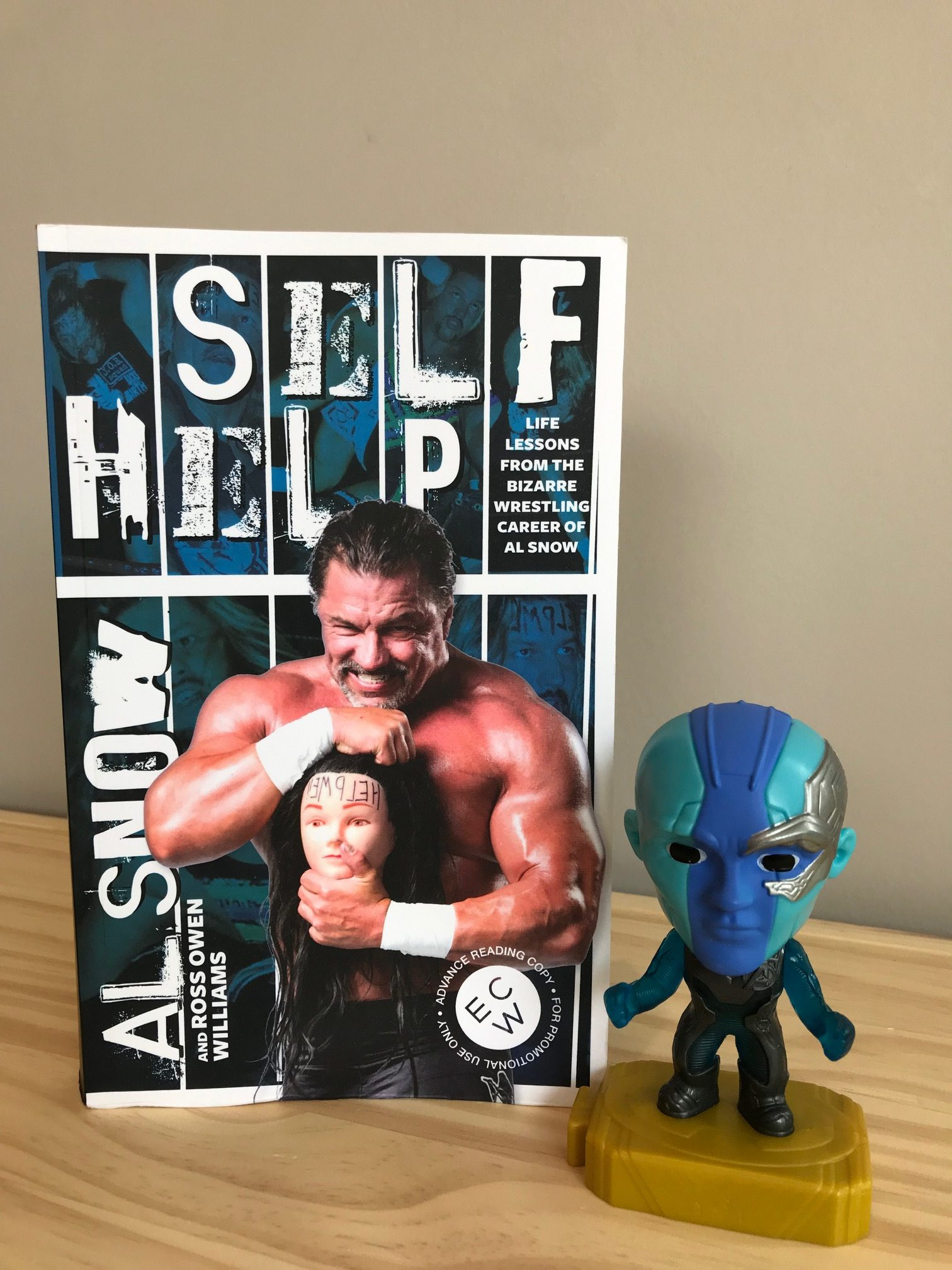 Book Review: Self Help by Al Snow