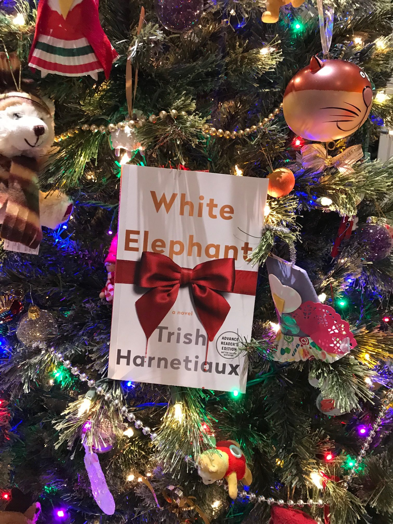 Book Review: White Elephant by Trish Harnetiaux