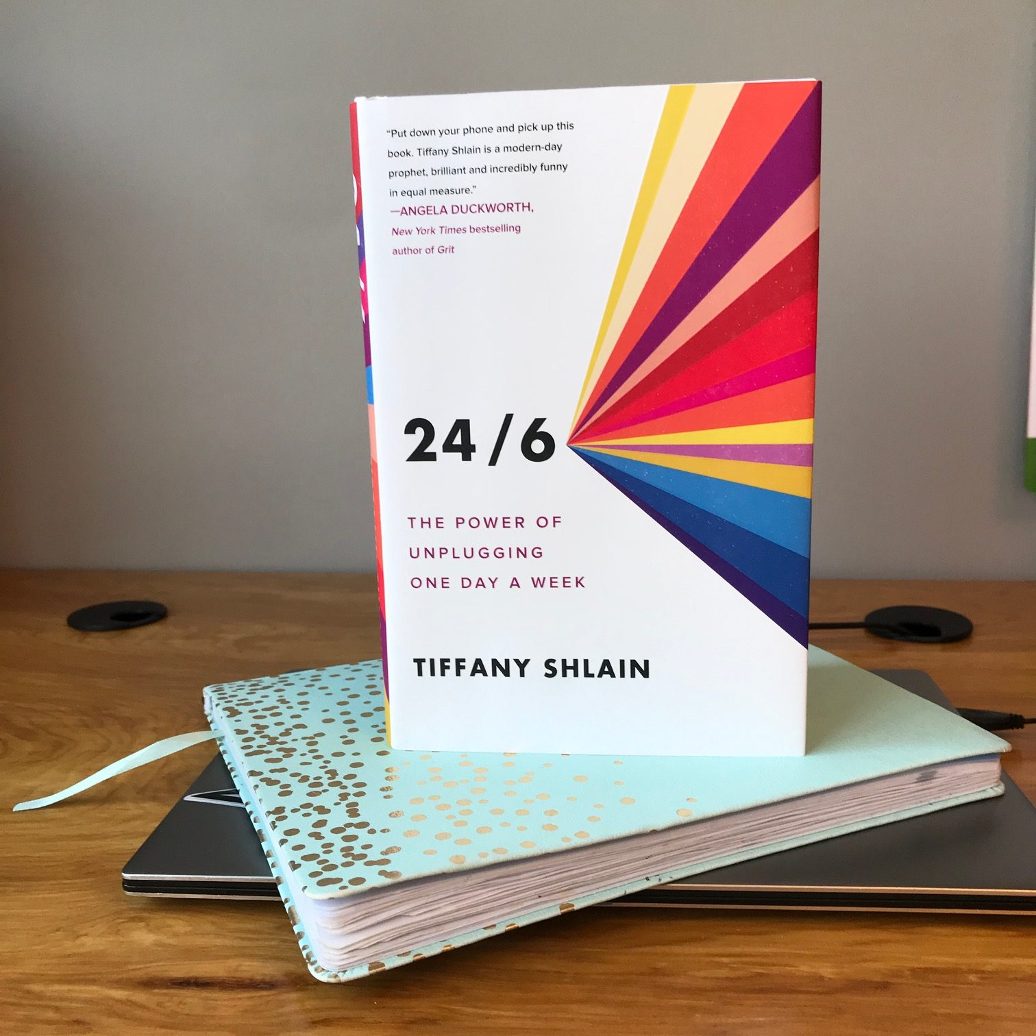 Book Review:  24/6, The Power of Unplugging One Day a Week by Tiffany Shlain