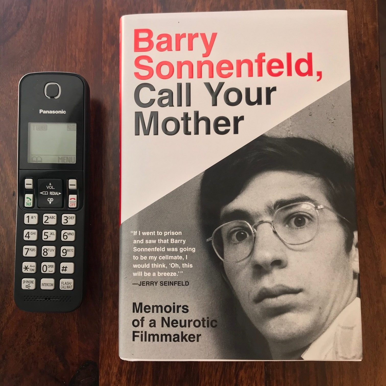 Book Review: Barry Sonnenfeld, Call Your Mother by Barry Sonnenfeld