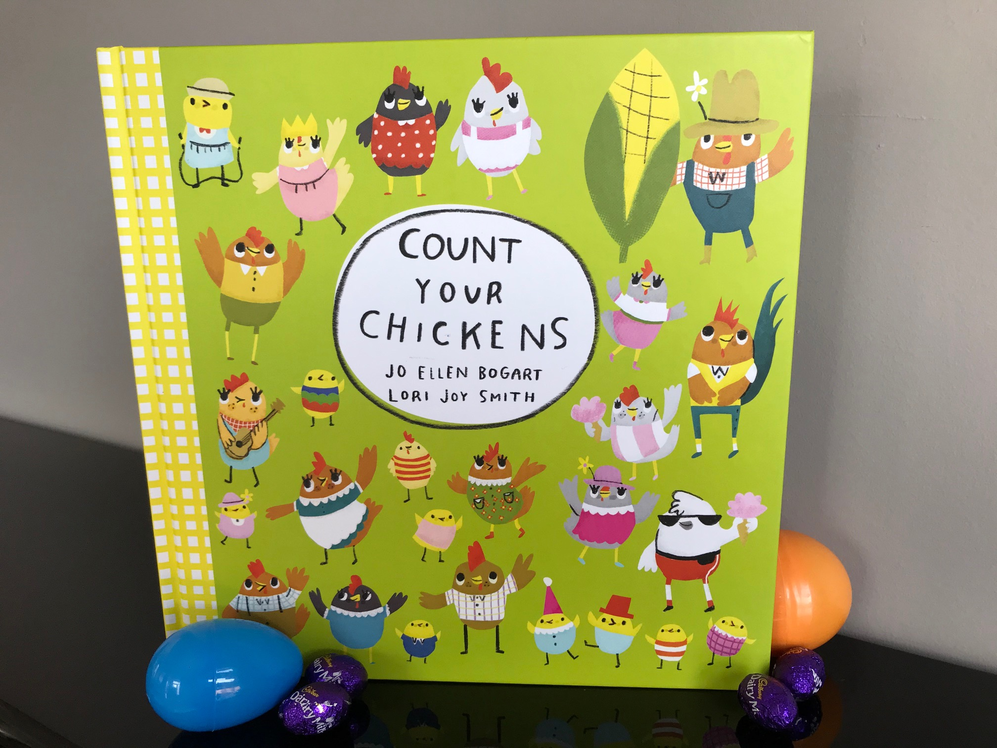 cover image of Count Your Chickens by Jo Ellen Bogart
