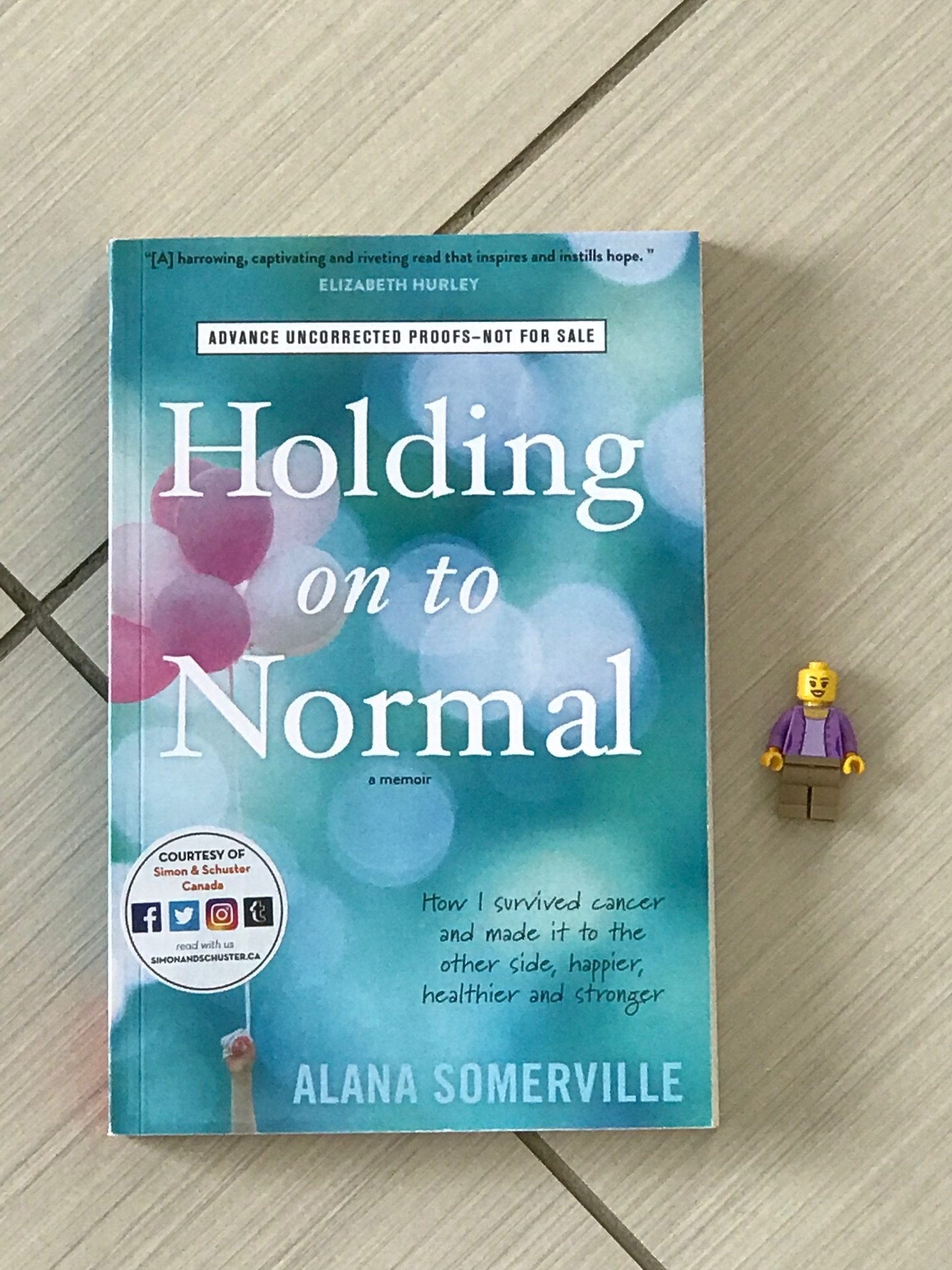 cover image of Holding On To Normal by Alana Somerville