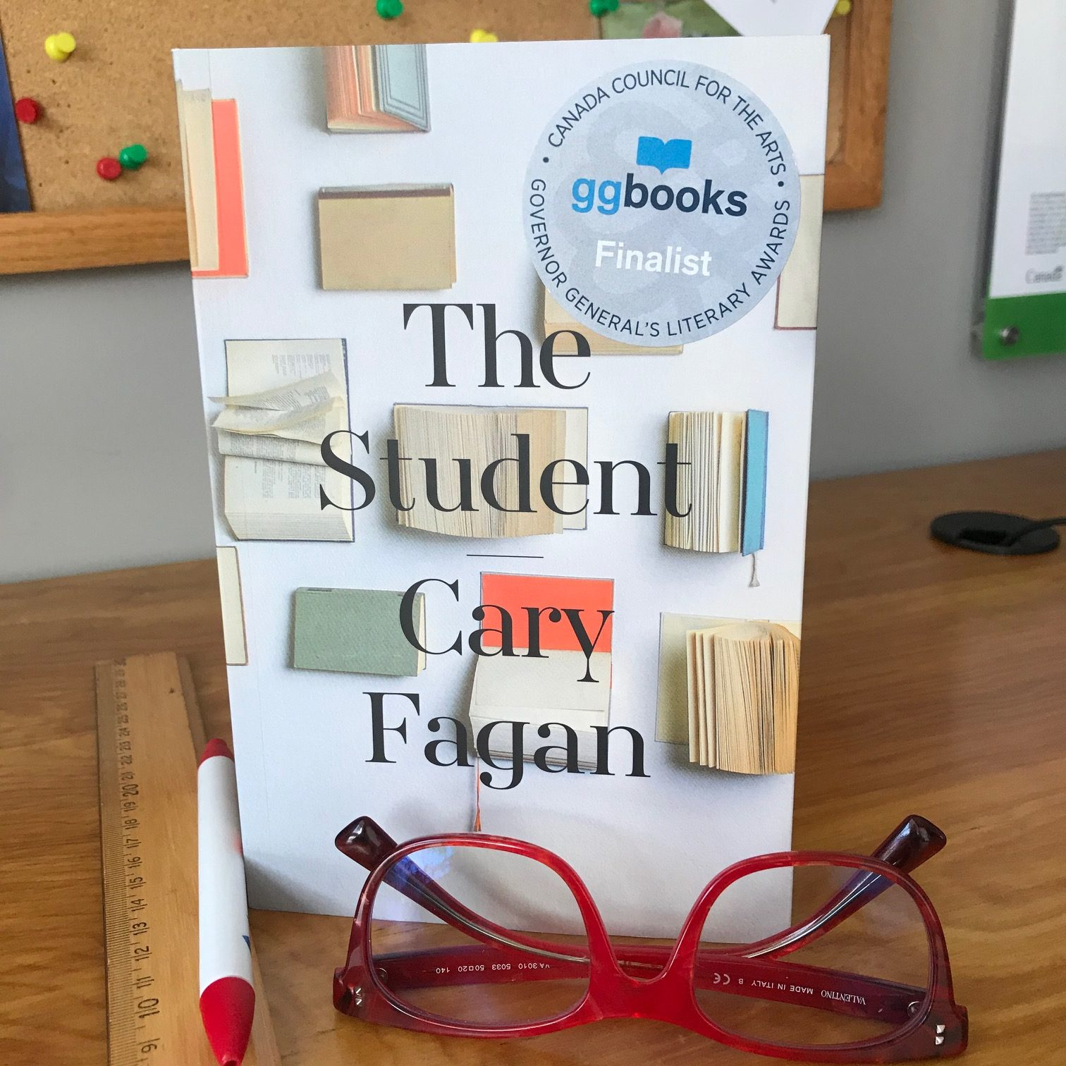 cover image of The Student by Cary Fagan