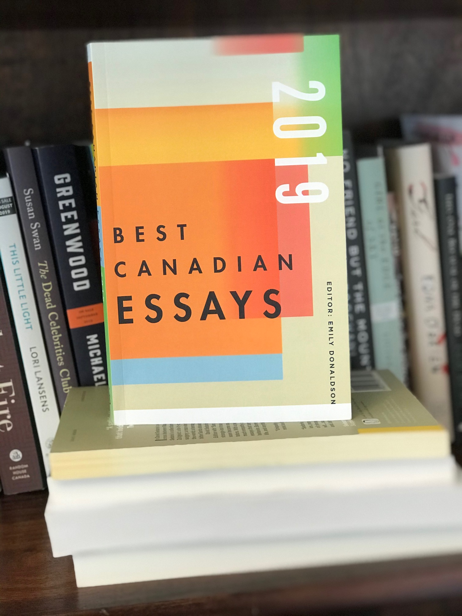 Book Review: Best Canadian Essays 2019, Edited by Emily Donaldson