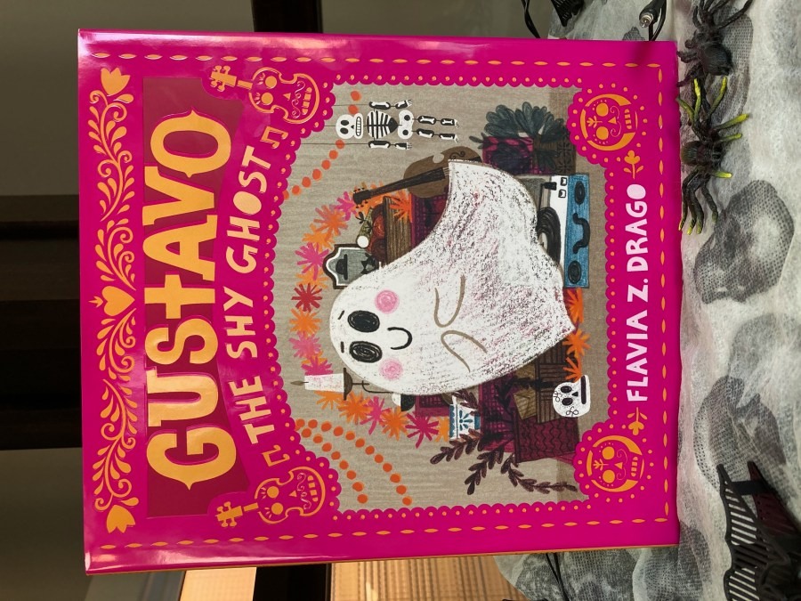 cover image of Gustavo The Shy Ghost