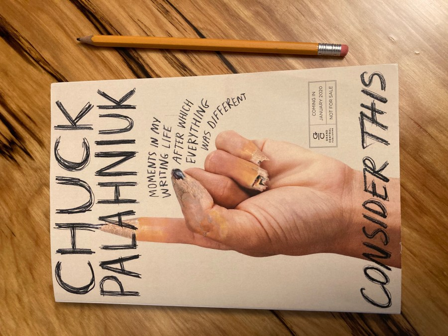 Book Review: Consider This by Chuck Palahniuk