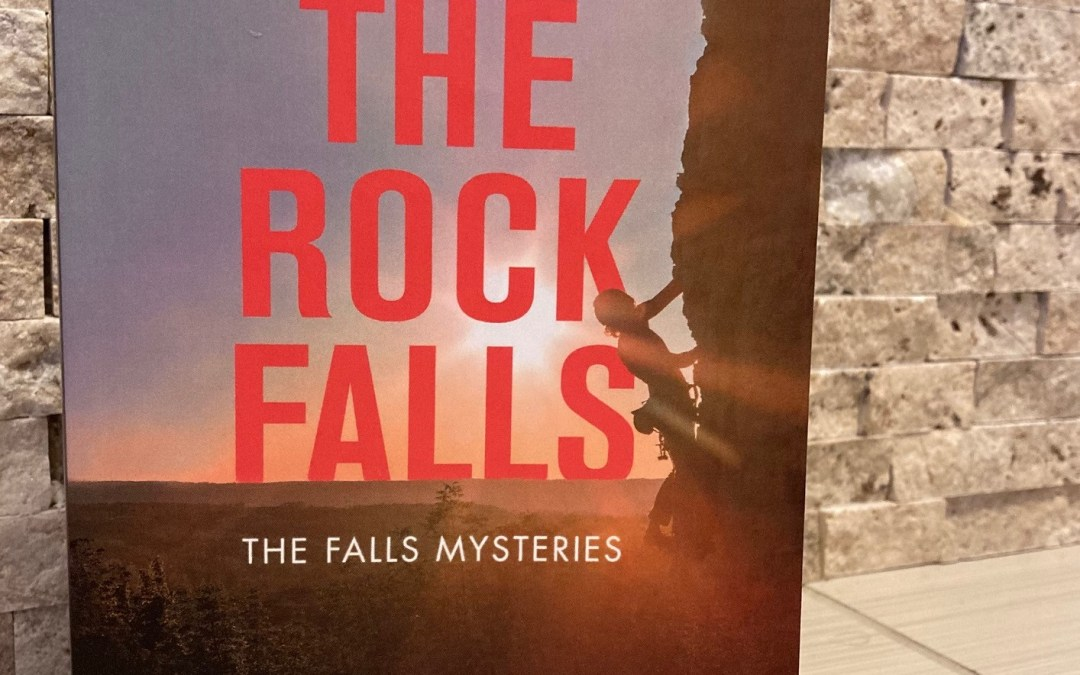 cover image of Why The Rock Falls by J.E. Barnard