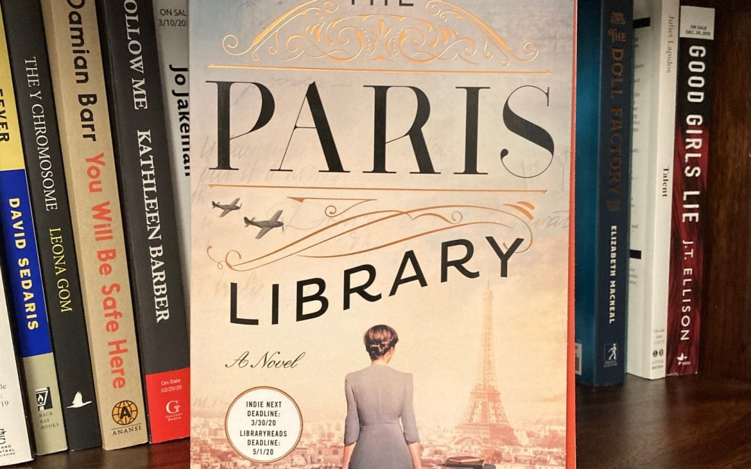 cover image of The Paris Library by Janet Skeslien Charles